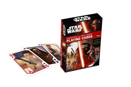 Star Wars Episode 7 - Spielkarten