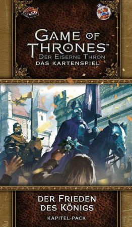 Der Eiserne Thron - Das Kartenspiel 2. Edition - Der Frieden des Königs (Westeros 3)