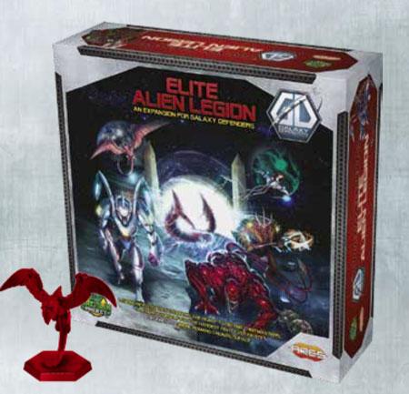 Galaxy Defenders - Elite Alien Legion Erweiterung (engl.)
