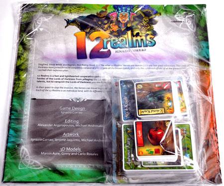 12 Realms - Reprint Kit - Nachrüstset für Grundspiele vor 2015 (engl.)