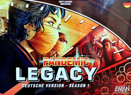 Pandemic Legacy Rot (engl.)