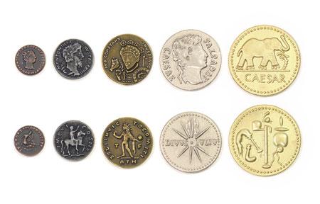 Spielgeldmünzen-Set Römisches Reich