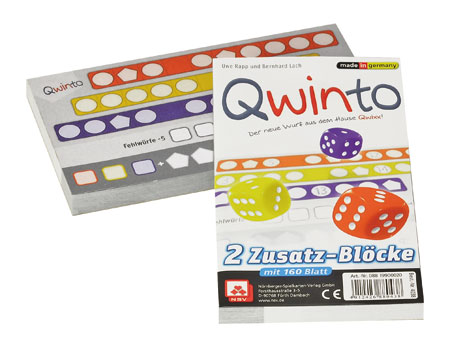 Qwinto - Ersatzblöcke (2er)