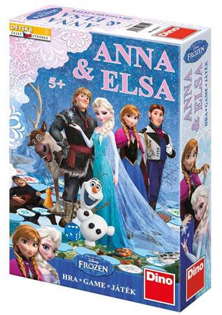 Die Eiskönigin - Anna und Elsa Spiel (engl.)