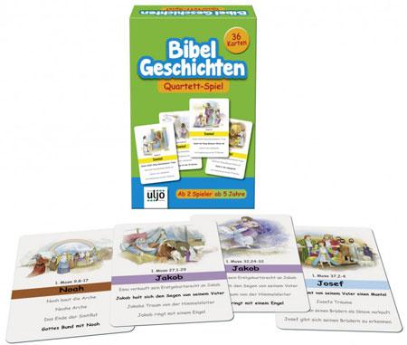 """Quartett """"Bibel-Geschichten"""""""