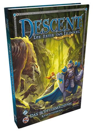 Descent 2. Edition - Das Blutvermächtnis - Kampagnenbuch