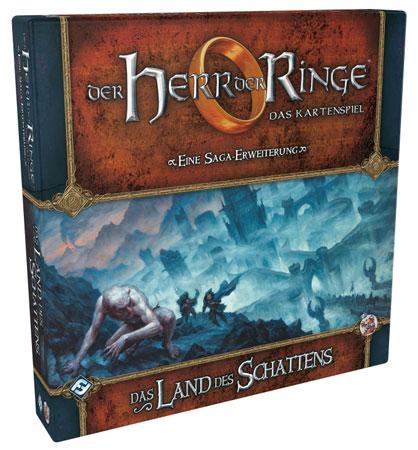 Der Herr der Ringe - Das Kartenspiel: Das Land der Schatten Erweiterung (HDR Saga Erweiterung 4)