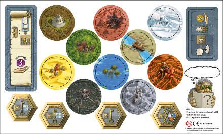 Terra Mystica - Erweiterungsbogen (Sonderlandschaften)