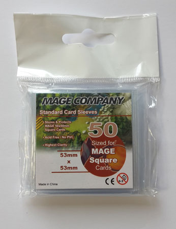 MCG Premium Mini Square Sleeves (50 x 50 mm)