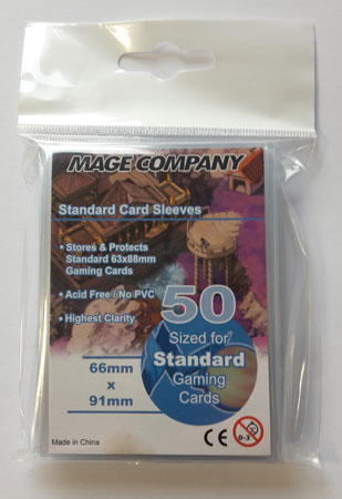 MCG Premium Standard Card Game Sleeves (63 x 88 mm)