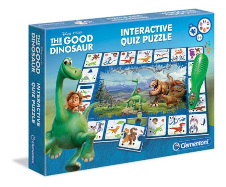 Der gute Dinosaurier - Interaktives Quiz