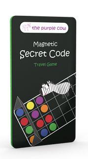 Secret Code - magnetisches Reisespiel