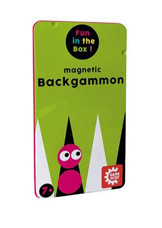 Backgammon - magnetisches Reisespiel