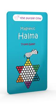 Halma - magnetisches Reisespiel