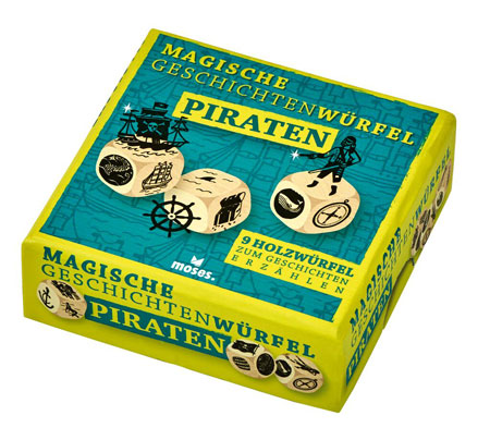 Magische Geschichtenwürfel - Piraten