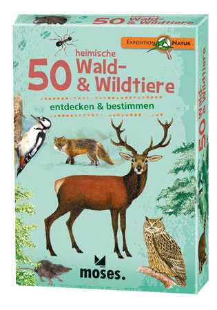 Expedition Natur - 50 heimische Wald- und Wildtiere