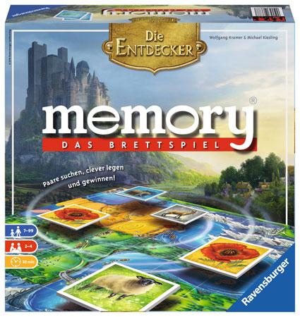 Memory - Das Brettspiel: Die Entdecker