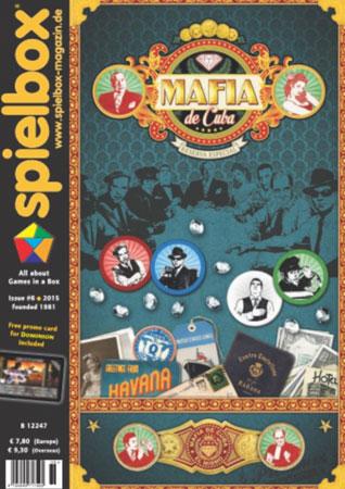 Spielbox 6/2015 englische Ausgabe