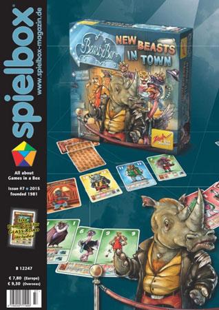 Spielbox 7/2015 englische Ausgabe