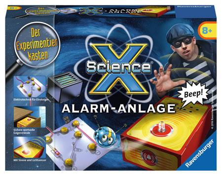 ScienceX - Alarmanlage (ExpK)