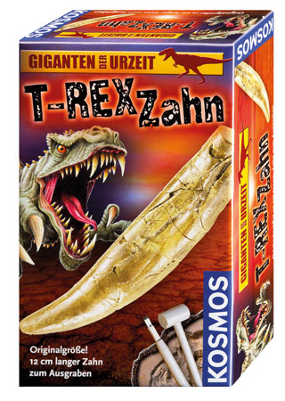 T-Rex Zahn - Ausgrabungsset