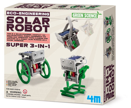 Eco Engineering - 3-in-1 Mini Solar Roboter (ExpK)