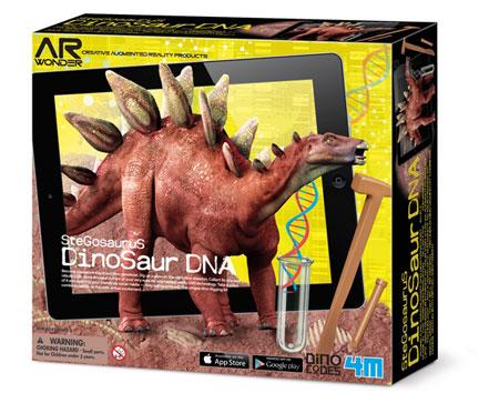 Dinosaur DNA - Stegosaurus (ExpK)