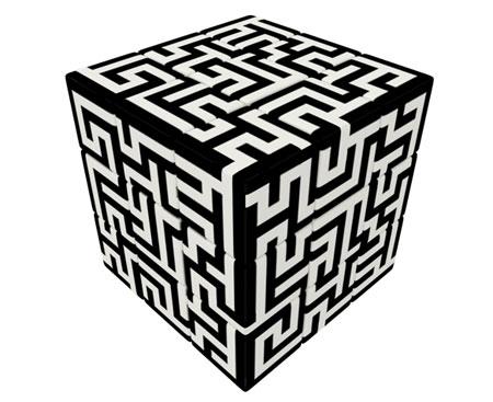 V-Cube 3 - Labyrinth (3x3)