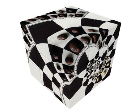 V-Cube 3 - Schachbrett Illusion (3x3)