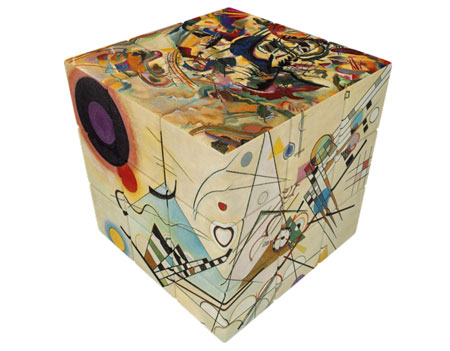 V-Cube 3 - Kandinsky (3x3)
