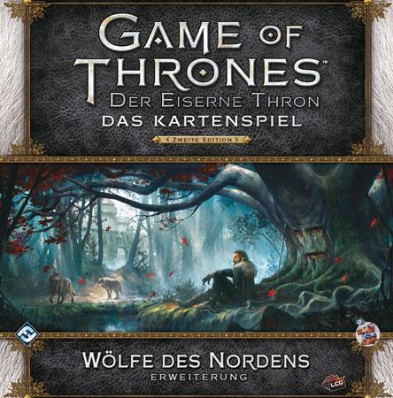 Der Eiserne Thron - Das Kartenspiel 2. Edition - Wölfe des Nordens Erweiterung