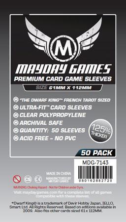 Mayday - 50 Kartenhüllen Premium Magnum für Kartengröße 61 x 112 mm