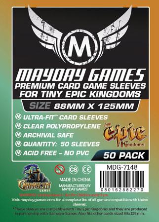 Mayday - 50 Kartenhüllen Premium für Kartengröße 88 x 125 mm