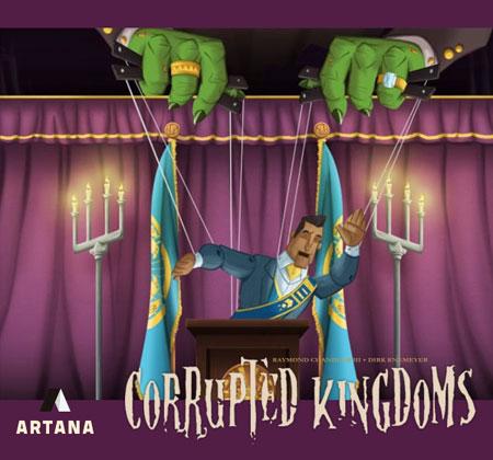 Corrupted Kingdoms (inkl. deutsches Übersetzungskit))