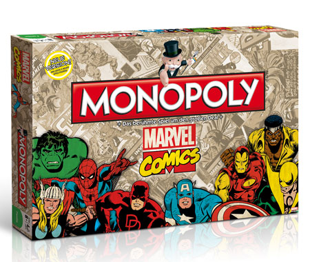 Monopoly - Marvel Comics Retro