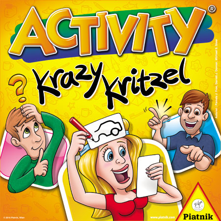 Activity - Krazy Kritzel