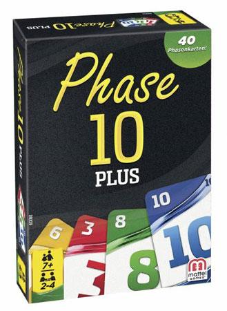 Phase 10 - Kartenspiel Plus