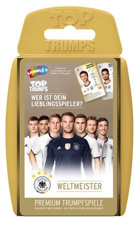 TOP TRUMPS - DFB Weltmeister