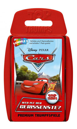 TOP TRUMPS - Disney Cars - World of Cars