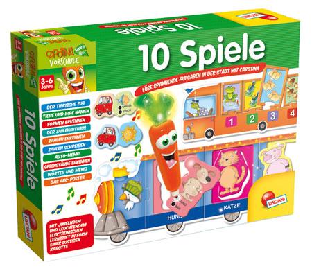 10 Spiele - Carotina Vorschule Lernspiele