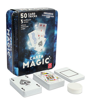 Zauberkarten - Carta Magic - 50 Tricks