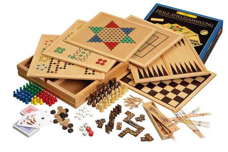 Holz Spielesammlung 100 Premium (Philos)