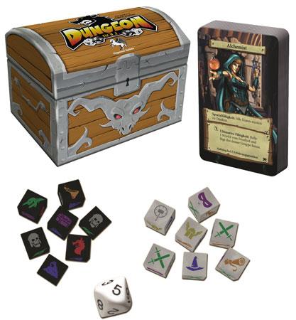 Dungeon Roll 2. Edition inkl. Neue Helden-Booster