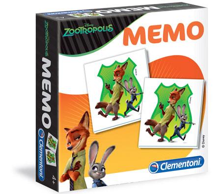 Memo Game - Zoomania