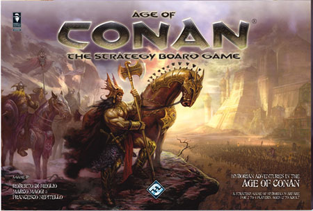 Age of Conan – The Strategy Boardgame (engl.)