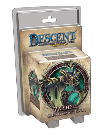 Descent 2nd Edition - Zarihell Lieutenant Pack (engl.)