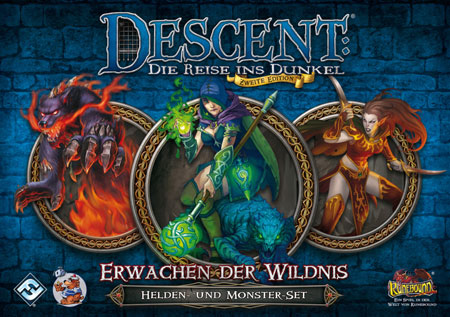 Descent 2. Edition - Erwachen der Wildnis: Helden- und Monster-Set