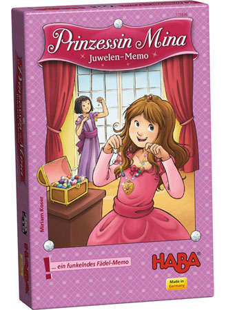 Prinzessin Mina - Juwelen-Memo