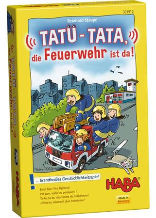 Tatü-Tata, die Feuerwehr ist da!