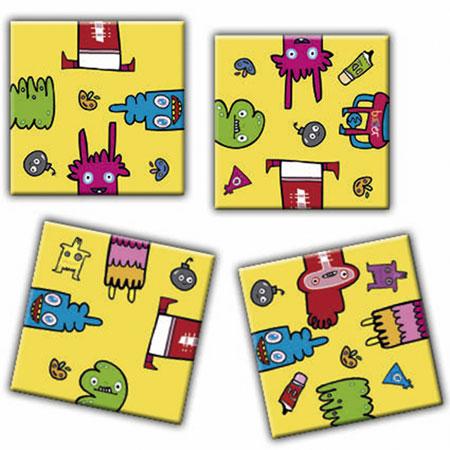 Crazy 9 - Burgerman Doodles